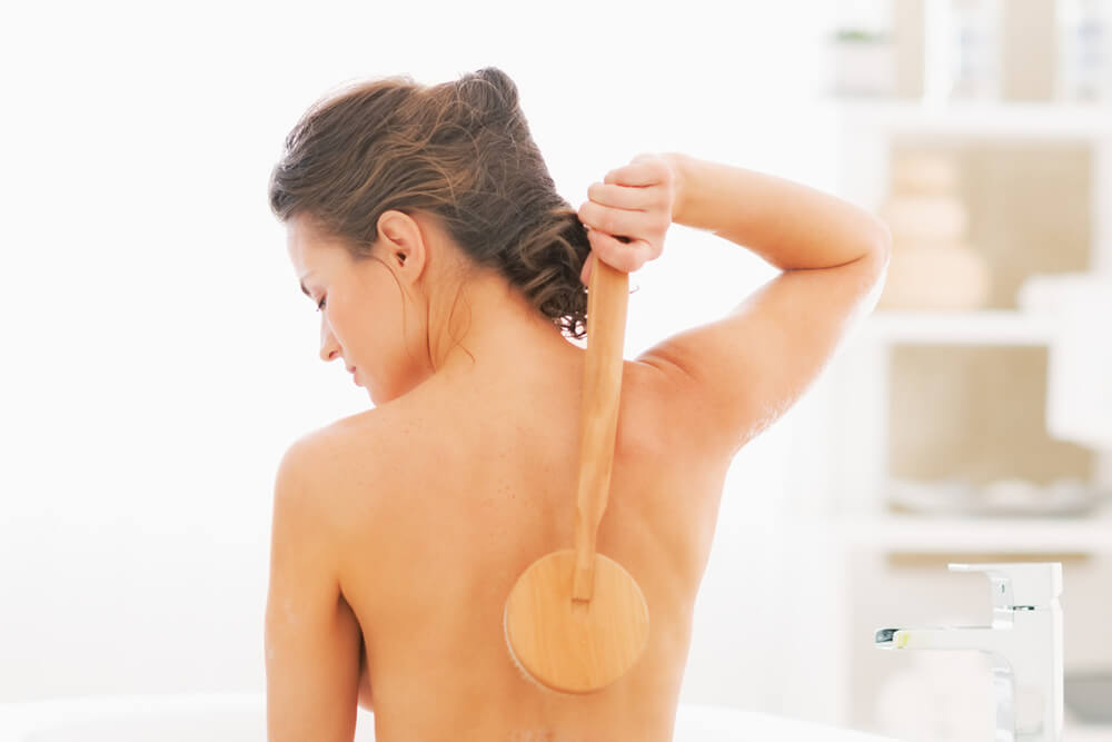 Lymphatic Massage and Dry Skin Brushing